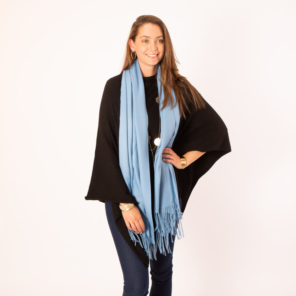 Georgia Pashmina French Blue
