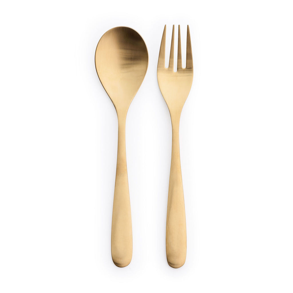 Gold Salad Tongs