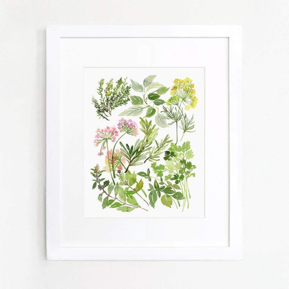 Herb Composition Art Print
