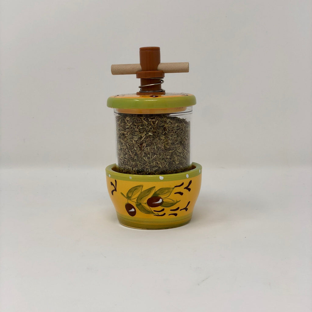 Herb Grinder Yellow