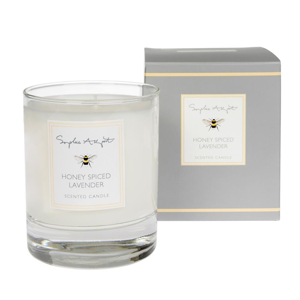 Sophie Allport Honey Spiced Lavender Scented Candle
