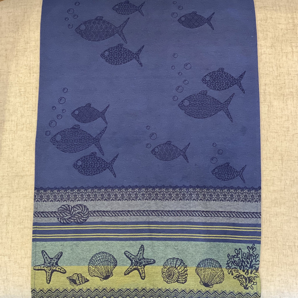 Ocean French Tea Towel Sud Etoffe