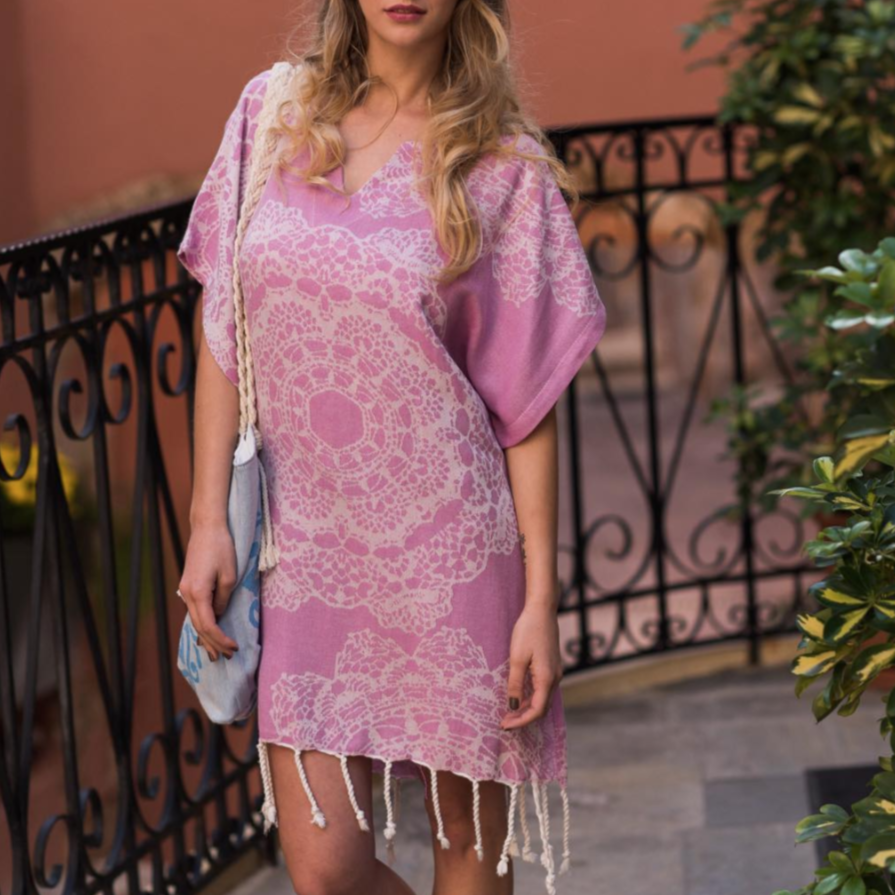 Lace Rose Tunic
