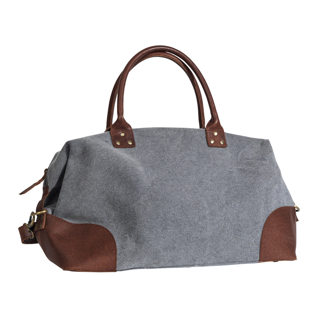 London Weekend Bag Light Grey