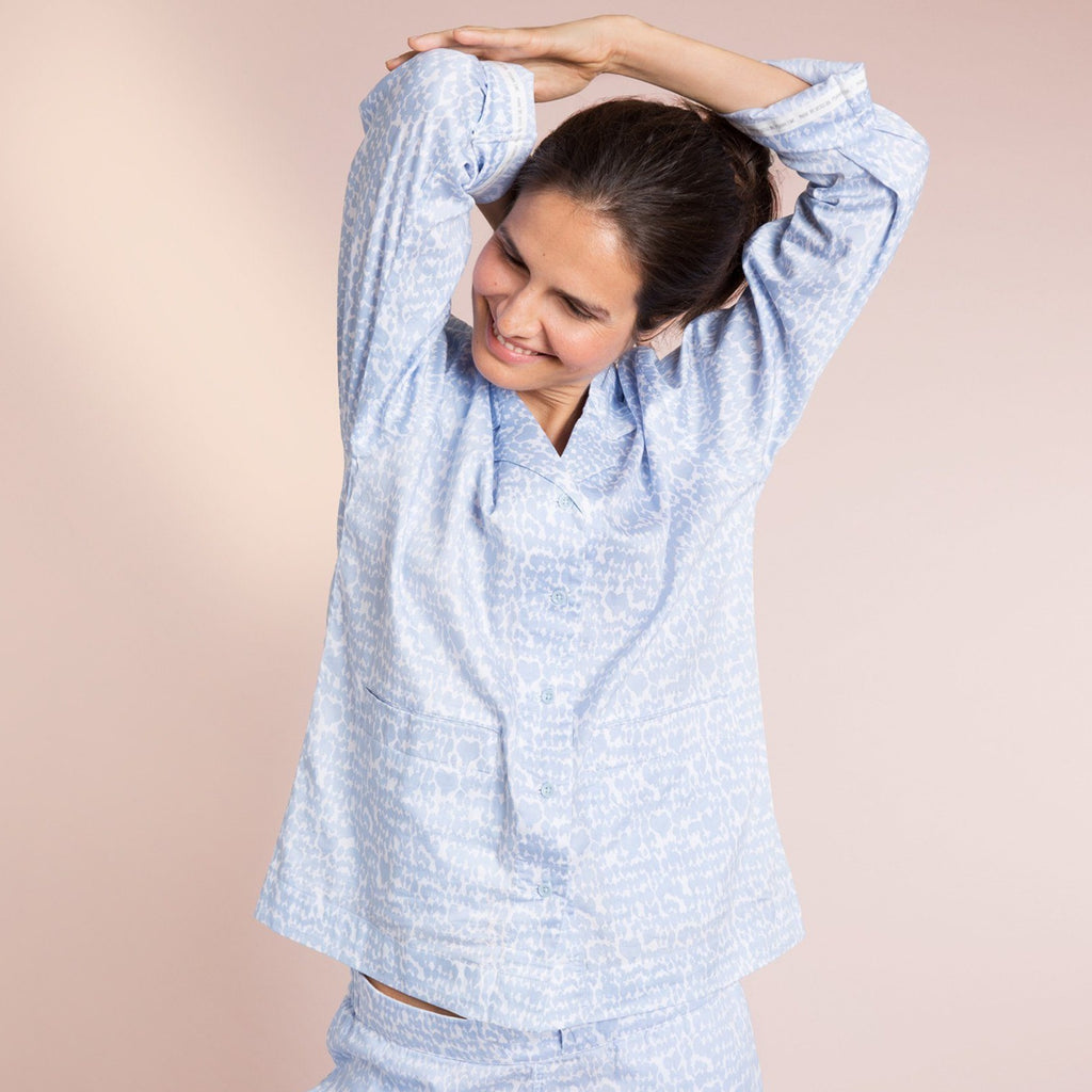 Lovebirds PJ Set Yawn Pajamas