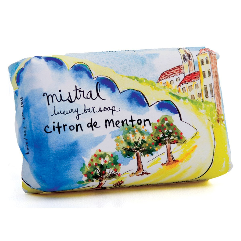 Citron de Menton Sur La Route French Soap