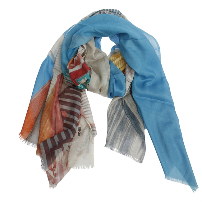 Mia Blue Mix Scarf
