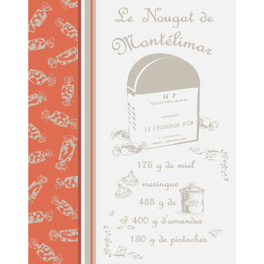Nougat Natural French Tea Towel Sud Etoffe
