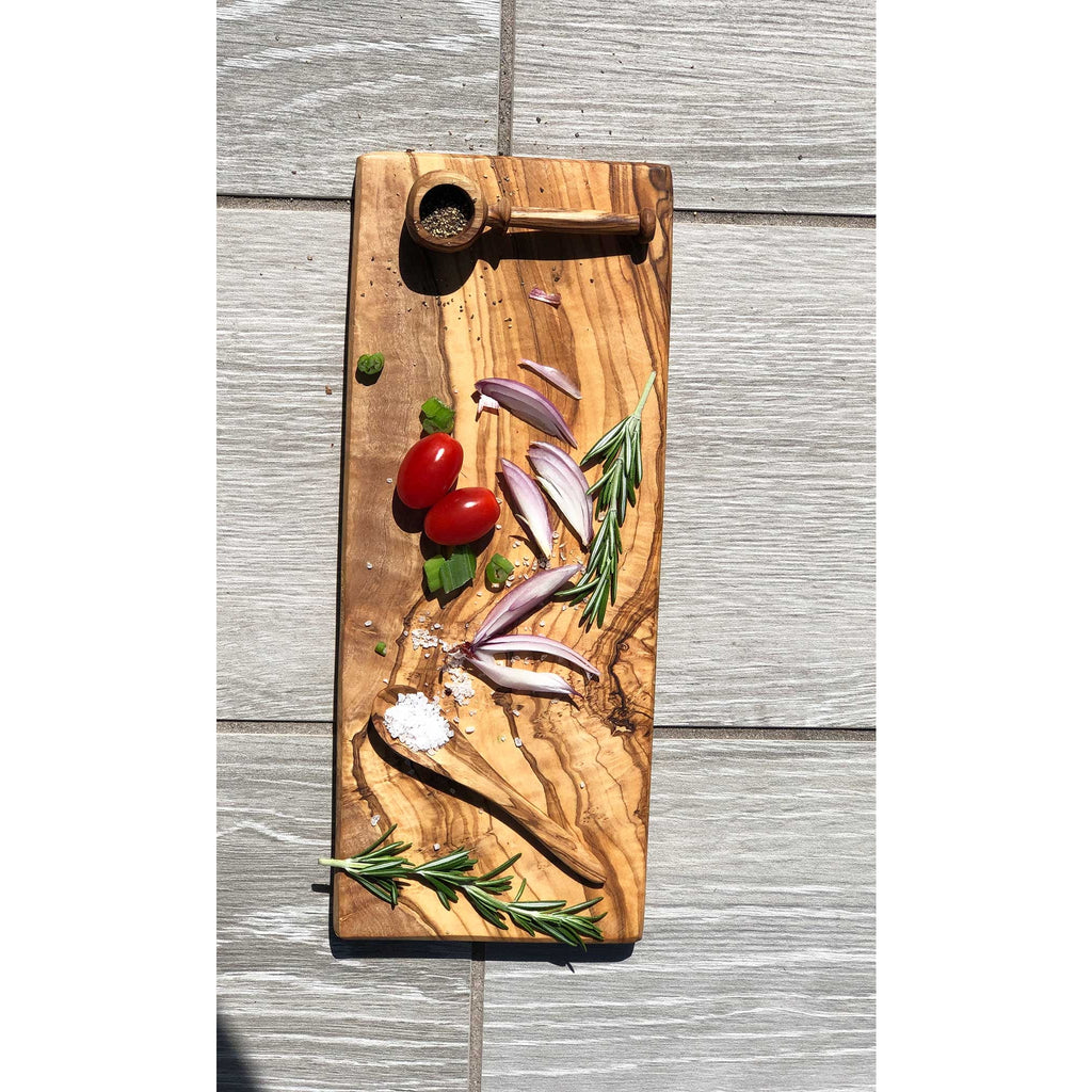 Olivewood Rectangle Cheese Board