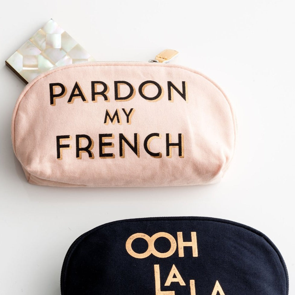 Pardon My French Cosmetic Bag