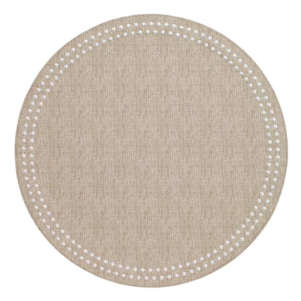 Bodrum Pearls Placemat Beige