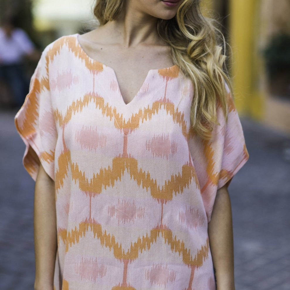 Ripple Peachy Tunic