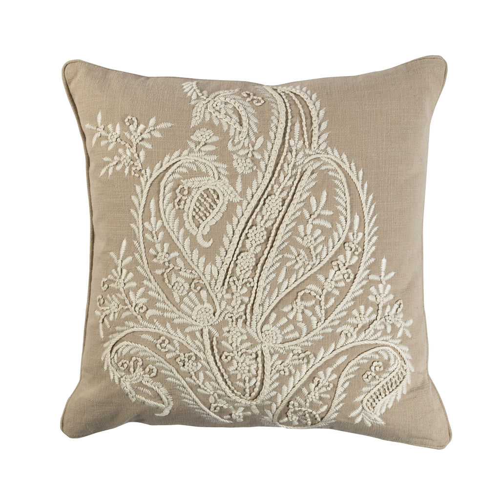 Riviera Natural Ivory Pillow