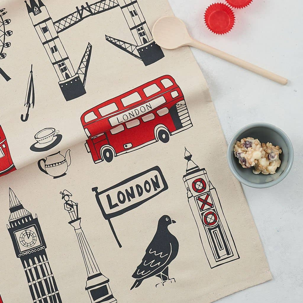 Big Smoke London Tea Towel