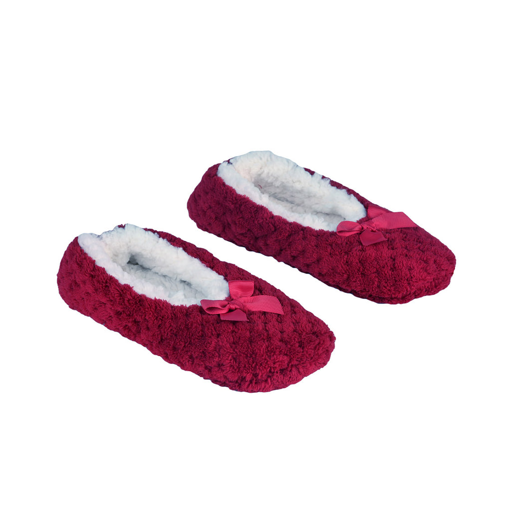 la Maison de Lilo Slippers in Bright Rose