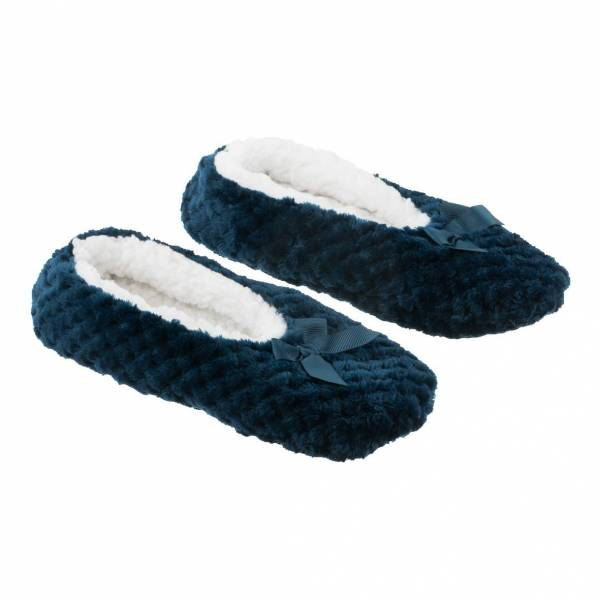 la Maison de Lilo Slippers in Cobalt Blue