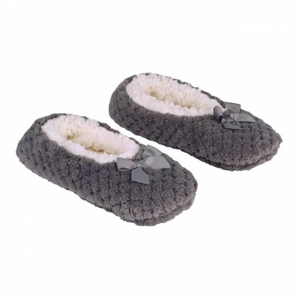 la Maison de Lilo Slippers in Galet Grey