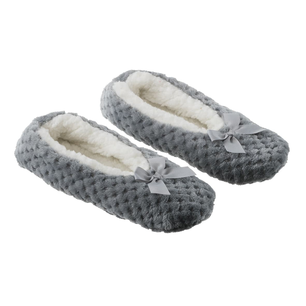 la Maison de Lilo Slippers in Pearl Grey