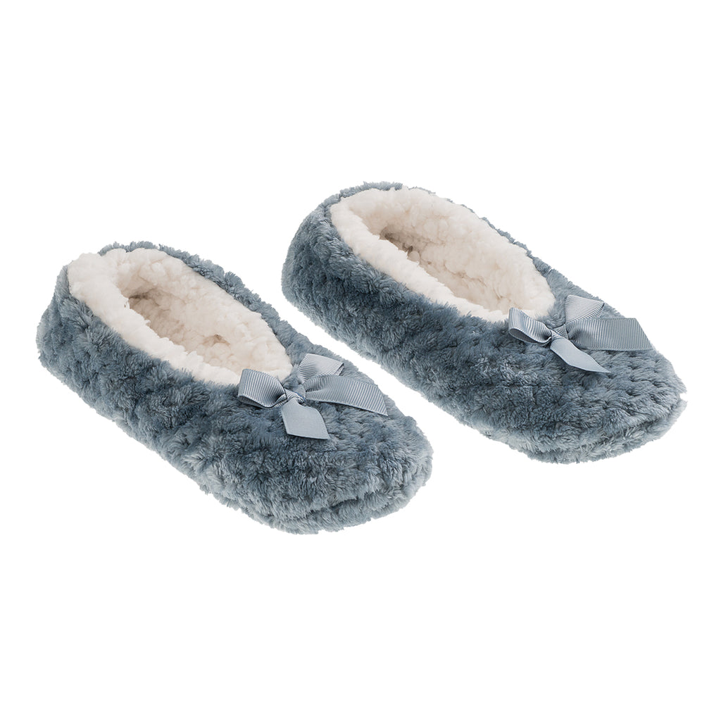 la Maison de Lilo Slippers in Slate Blue