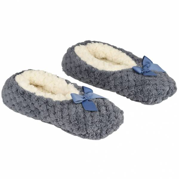 la Maison de Lilo Slippers in Thunderstorm French Blue