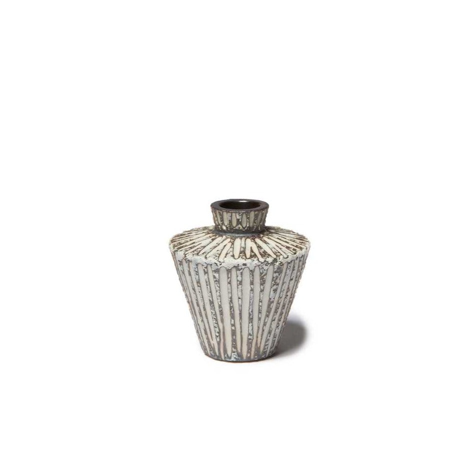 Sonja Mini Vase Stone Stripe Lindform