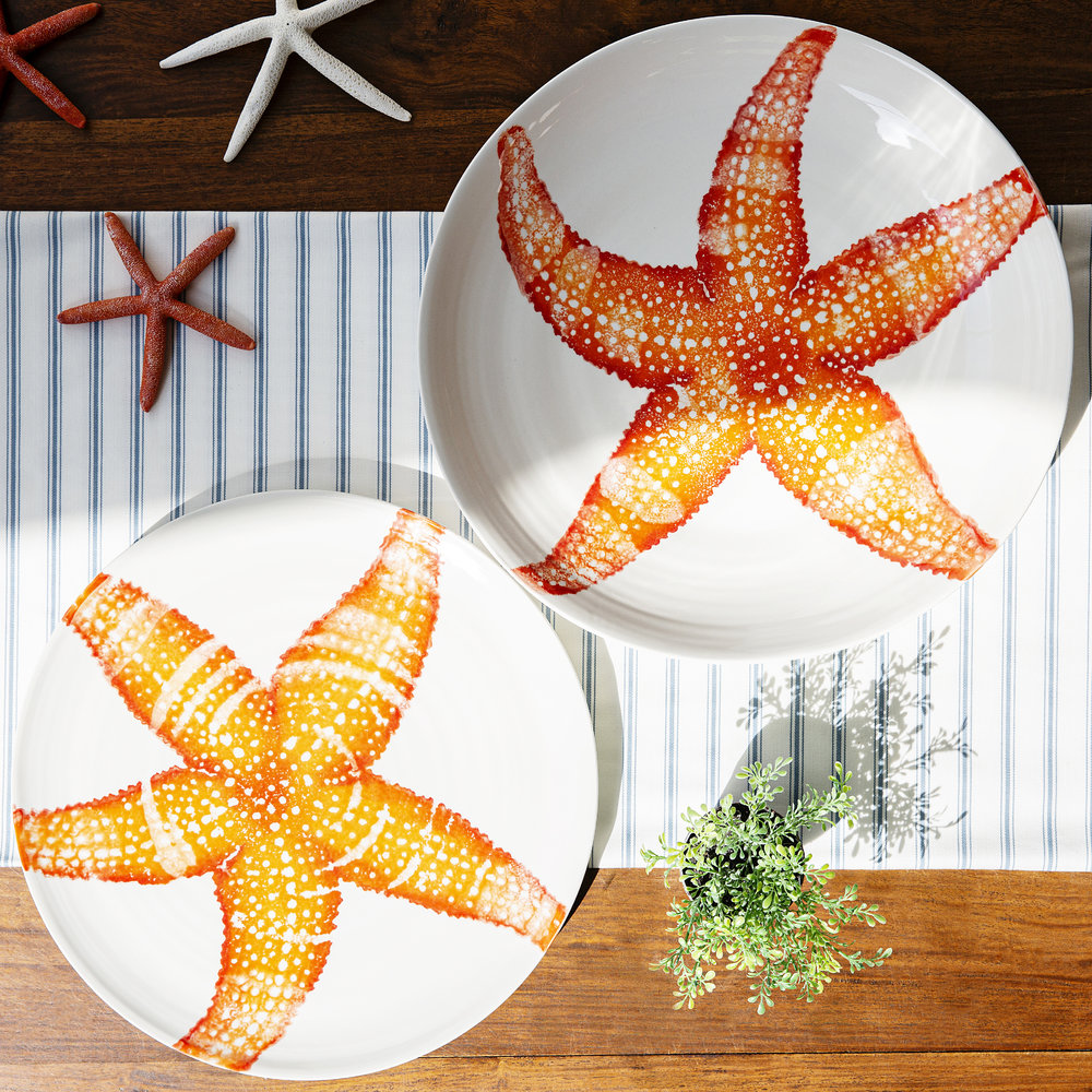 Starfish Serving Bowl