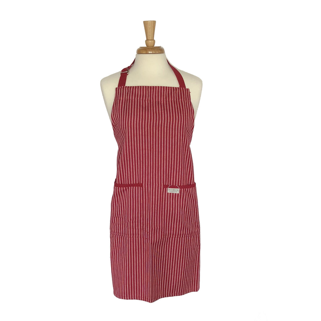 Sterck and Co. Drum Red Standard Apron