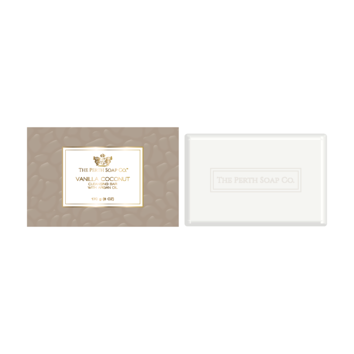 Perth Soap Co. Vanilla Coconut Cleansing Soap Bar