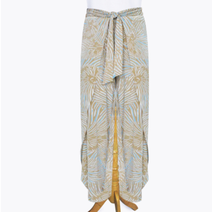 Wrap Front Pant Sand Shell