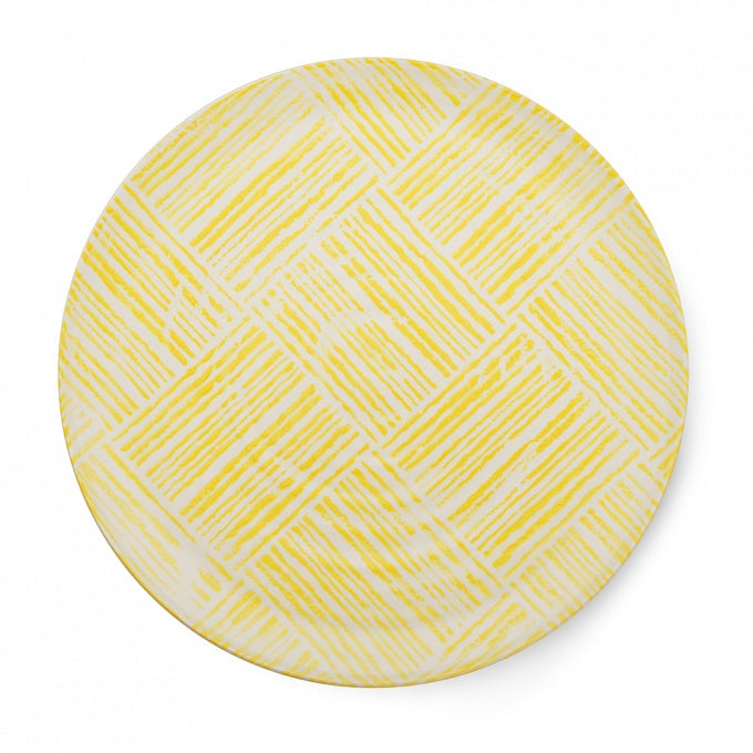 Yellow Linear Platter