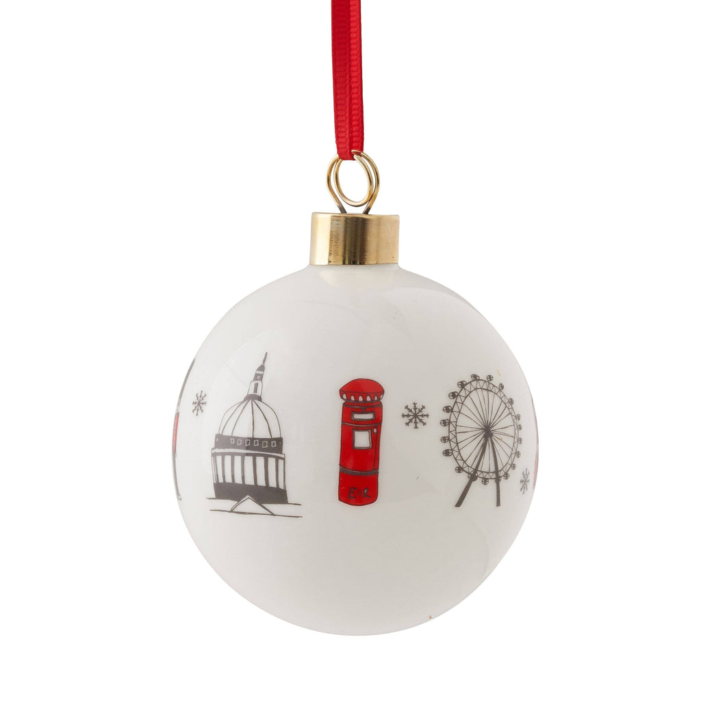 London Skyline Bauble Ornament