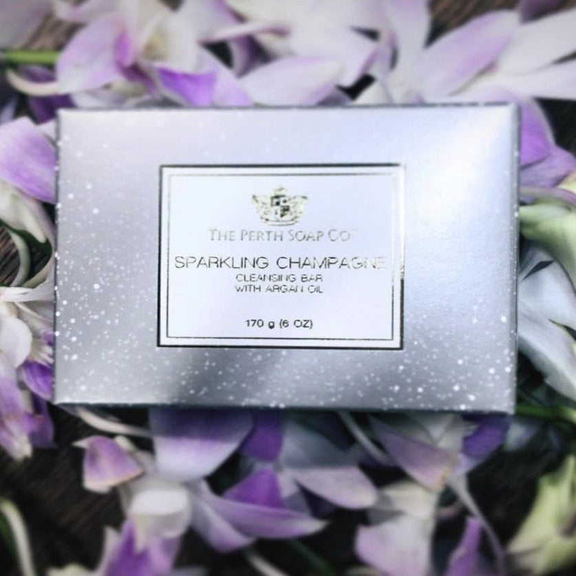 Perth Soap Co. Sparkling Champagne Cleansing Soap Bar