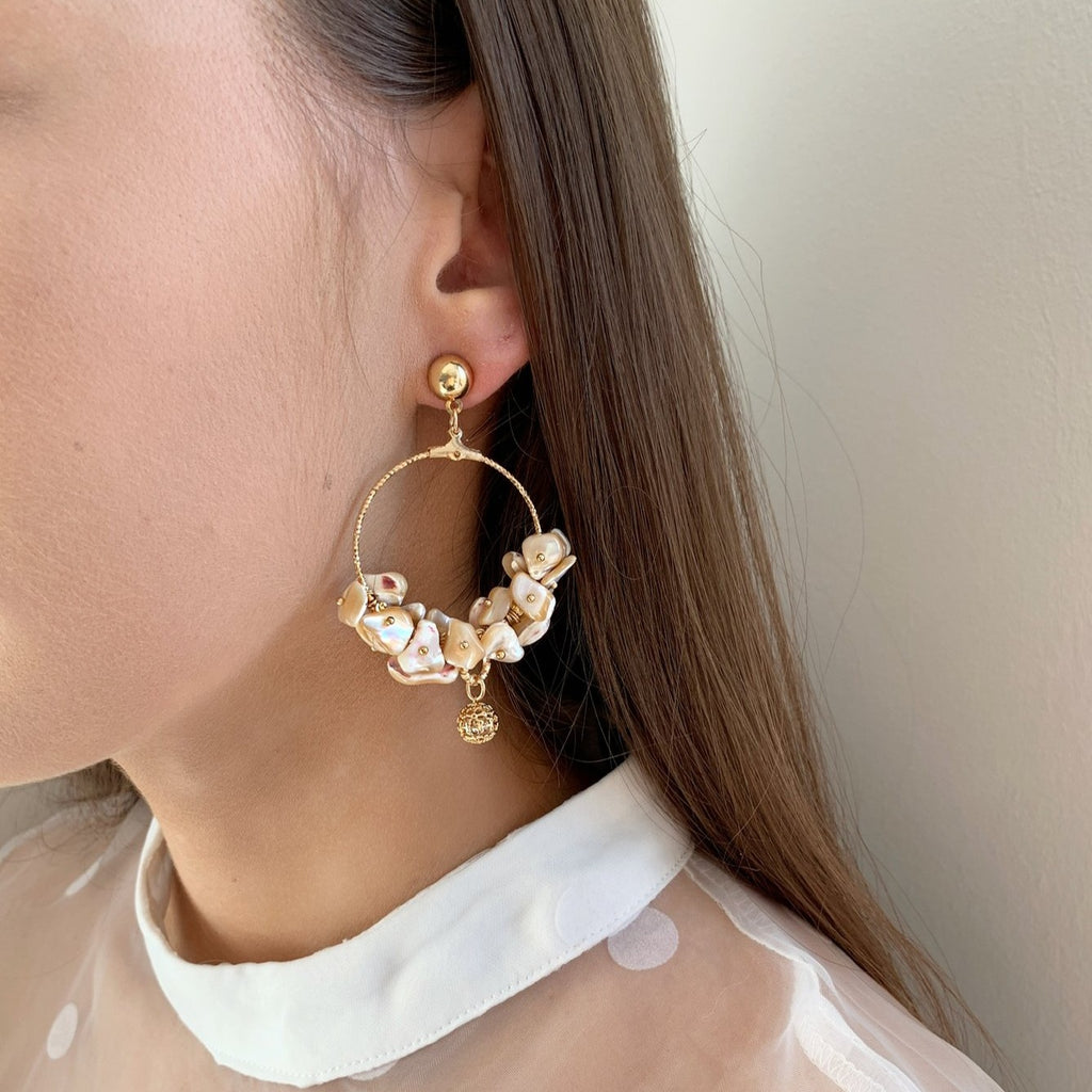 Imogen Seashell Earrings