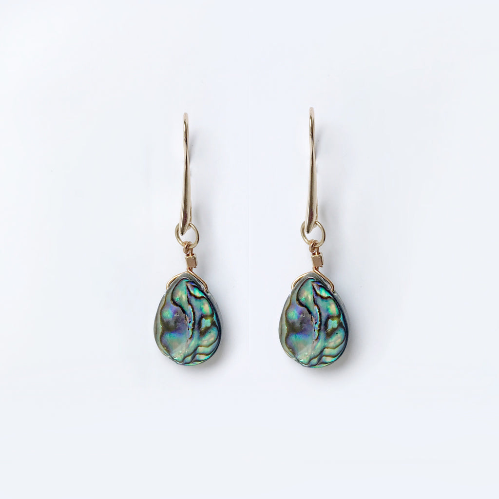 Jodie Abalone Earrings