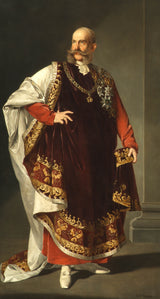 edmund-polz-1893-empereur-franz-joseph-i-in-the-robes-of-the-order-of-the-golden-fleece-art-print-fine-art-reproduction-wall-art-id-id- armuieclb