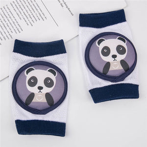 Baby Knee Pads Infant Toddler Cartoon Kneepads for Crawling Baby Leg Protector