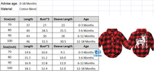Load image into Gallery viewer, Baby Girls And Boys Buffalo - Christmas Plaid Rompers 0-18 Months