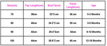 Load image into Gallery viewer, Girl Clothes Newborn Baby Romper T-shirt Top + Pants Leggings Outfits 3PCS Set