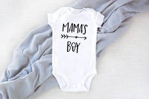 1pcs Mom and Son Matching Clothes - Mama Little Boy Rompers Mommy Tshirt