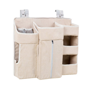 Portable Baby Crib Organizer - Essentials Diaper Storage
