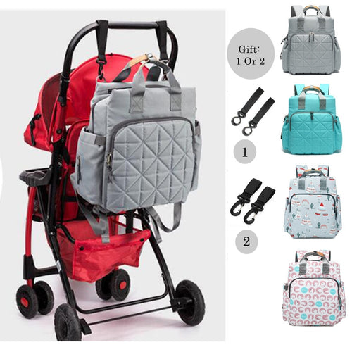 Multi-function Waterproof Mummy Diaper Bag - Large Backpack