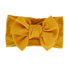 Load image into Gallery viewer, Baby Girl Bow Headband Elastic