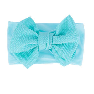 Baby Girl Bow Headband Elastic