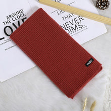 Load image into Gallery viewer, Baby Accessories Children's Pure Color Fashion Winter Warm Wrap Scarf Shawl Knitted