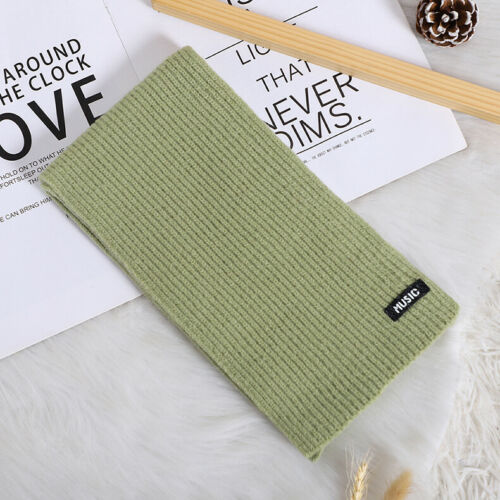 Baby Accessories Children's Pure Color Fashion Winter Warm Wrap Scarf Shawl Knitted