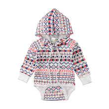 Load image into Gallery viewer, Baby Boys / Girls Cotton Romper Toddler Loose Boho Hoodie Hooded Romper Jumpsuit