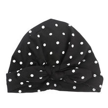 Load image into Gallery viewer, Baby Girl Hat with polka dots 1 PC