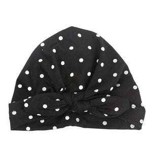 Baby Girl Hat with polka dots 1 PC