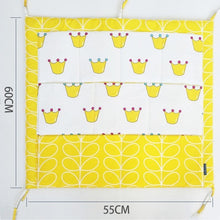 Load image into Gallery viewer, Muslin Hanging Storage Bag For Crib - Cotton Crib Organizer 60 * 50cm