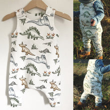 Load image into Gallery viewer, Babys Jumpsuits 6M-24M Cotton Newborn Baby Boy / Girl Dinosaur Romper Jumpsuit